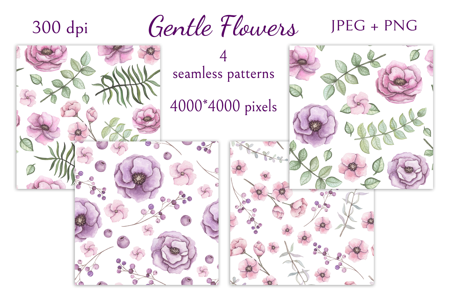 Gentle Flowers example image 8