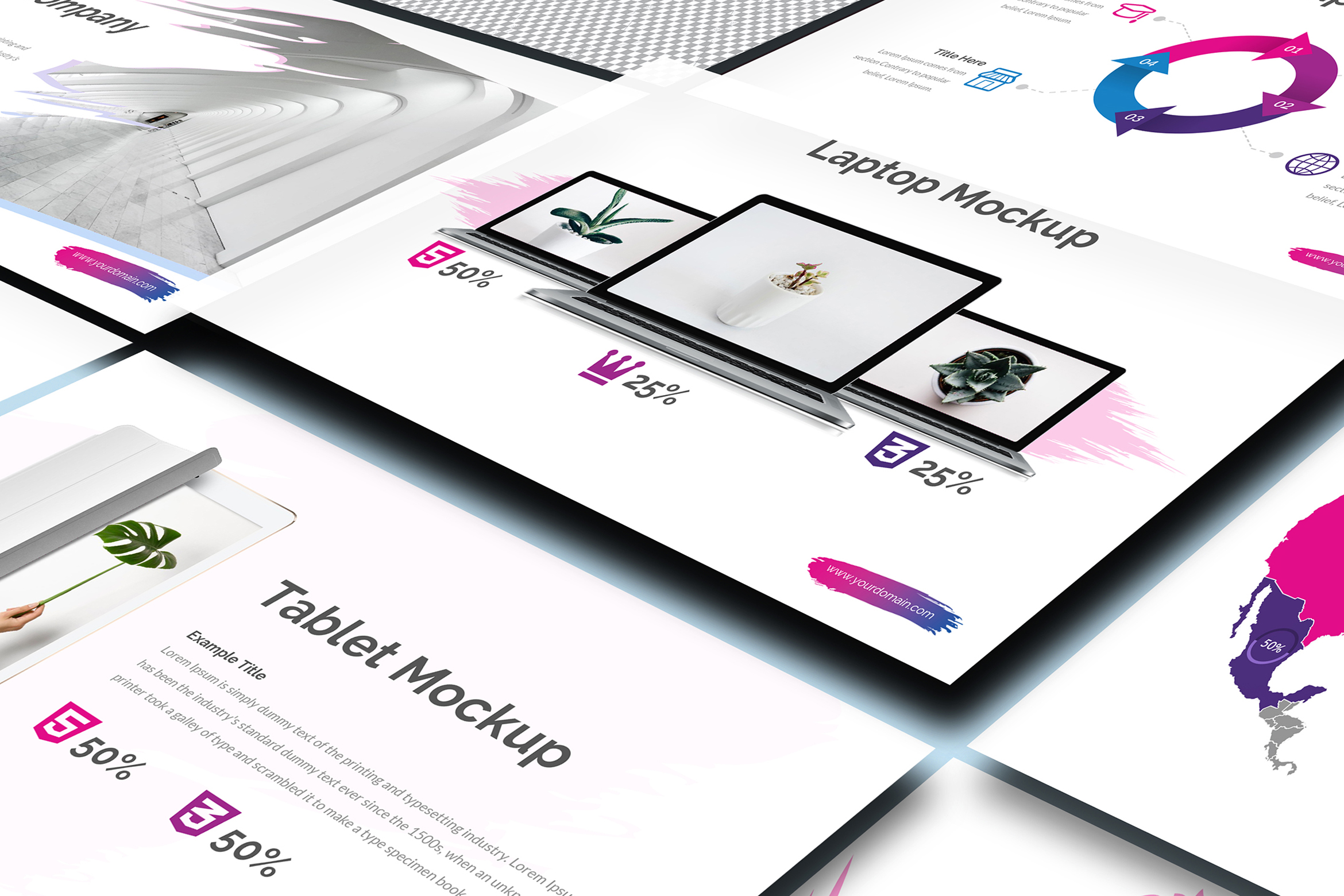 ACCOS - Multipurpose Powerpoint Template example image 5