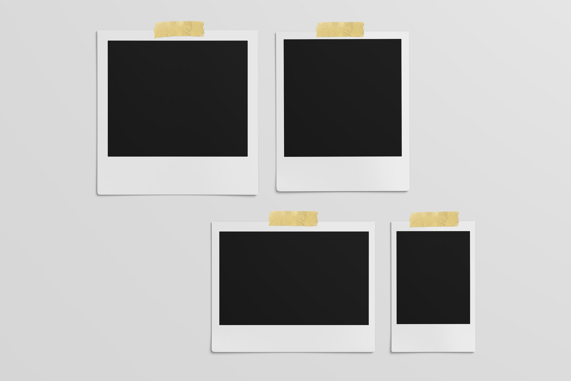 Polaroid Mockups Set example image 10