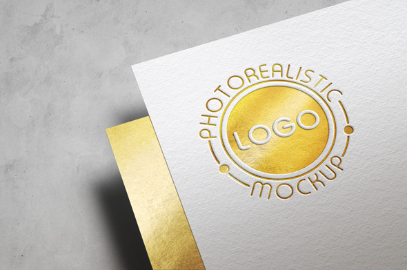 Logo Mock-Up Paper Edition example image 9