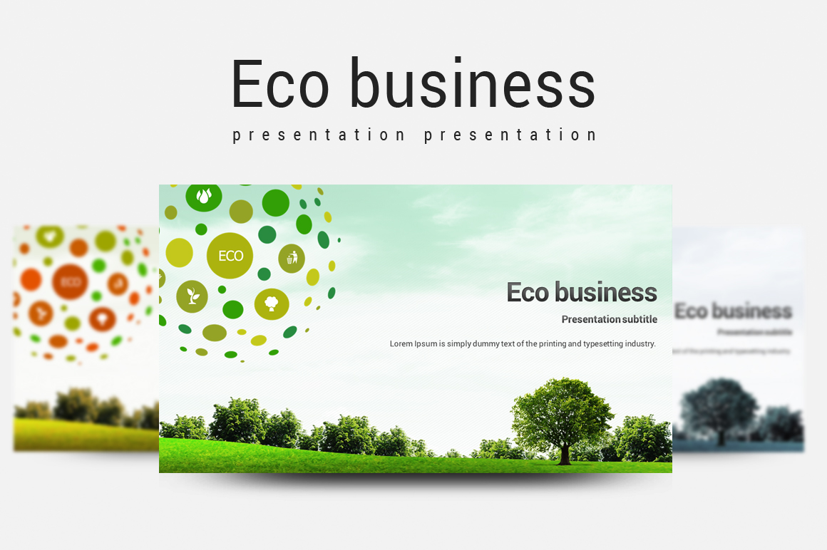 Eco Business Template example image 1
