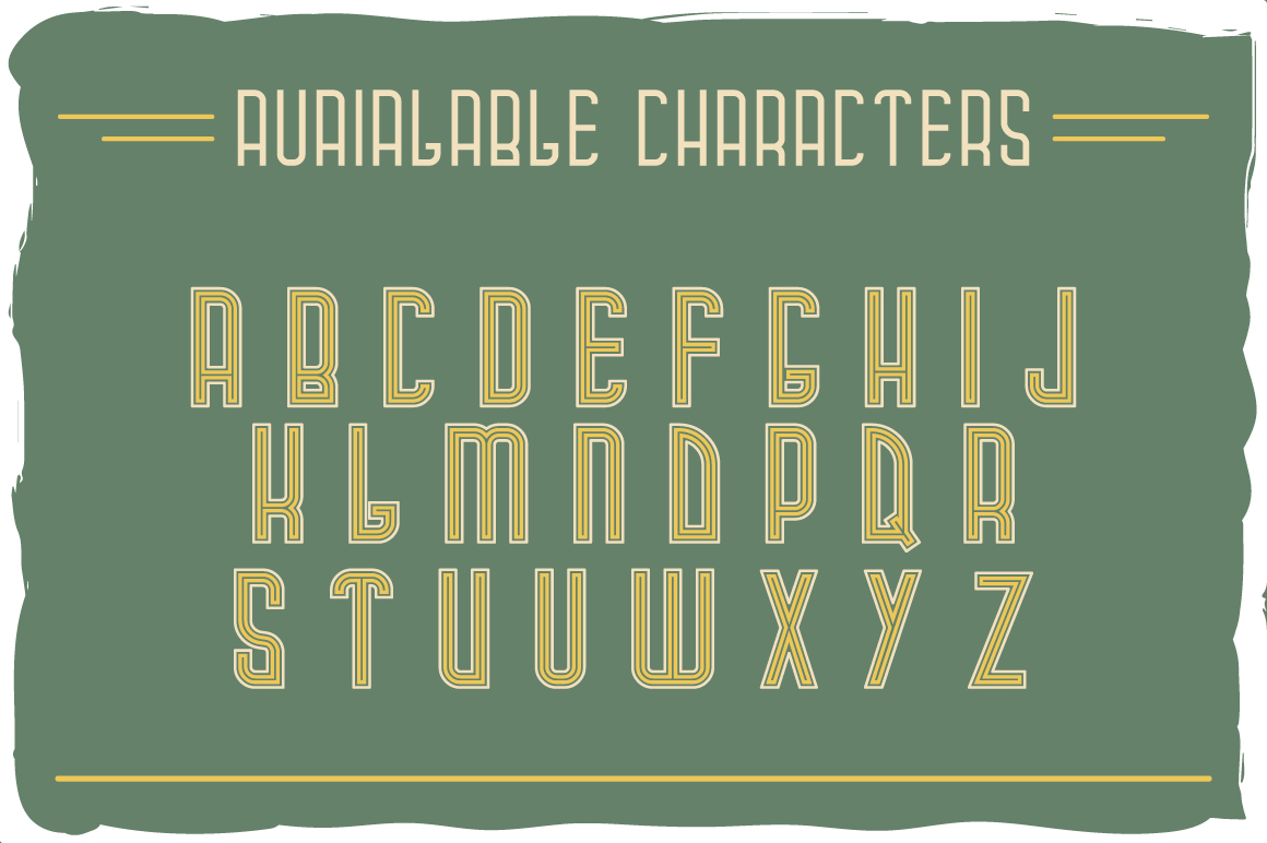 Campus typeface example image 2