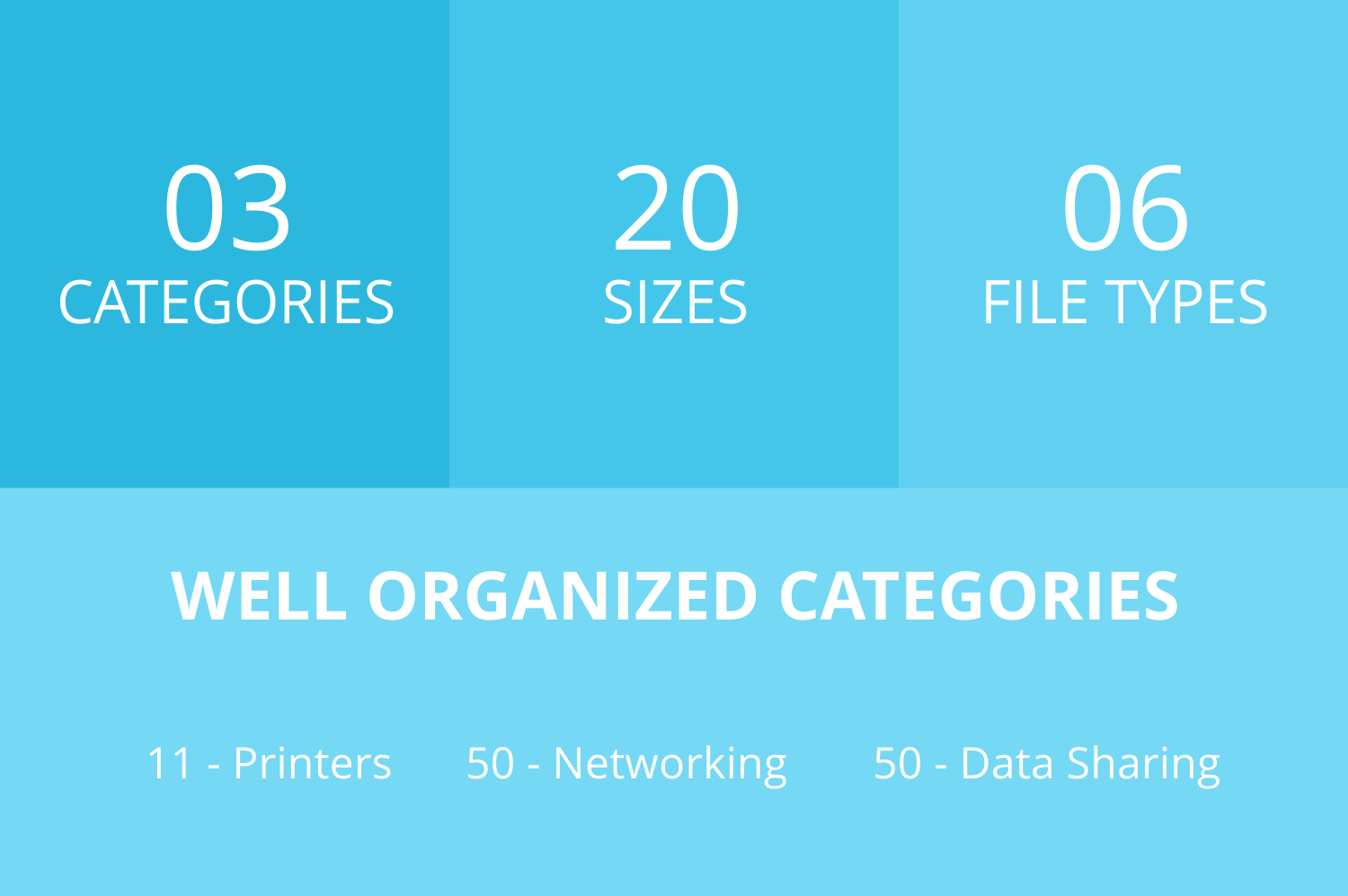111 Networking & Printers Filled Low Poly Icons example image 3