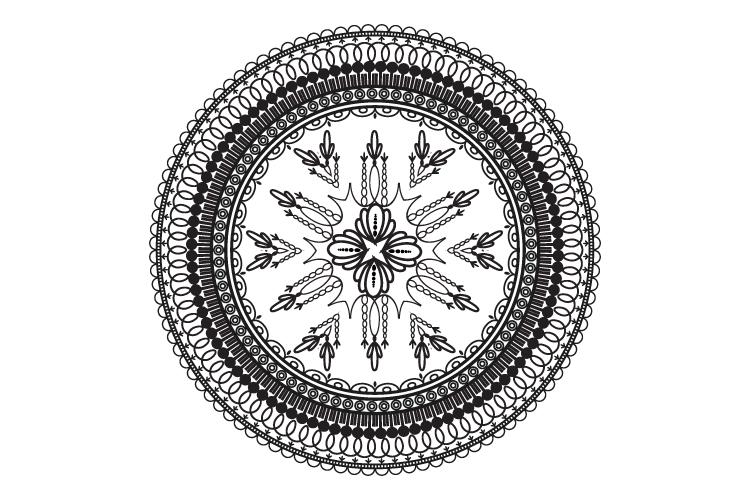 Mandalas. Round forms. example image 14