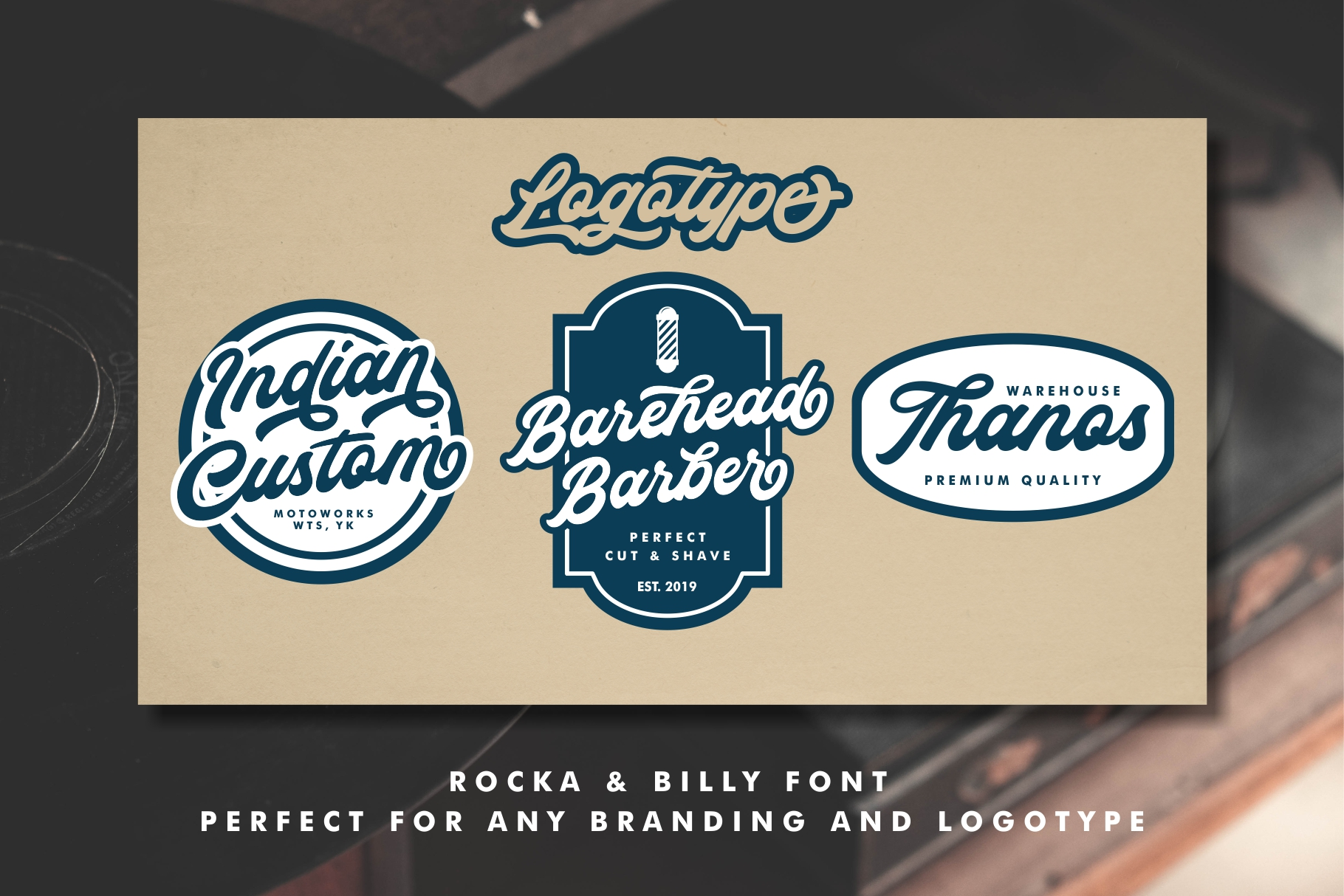 Rocka & Billy - Bold Script Font example image 2