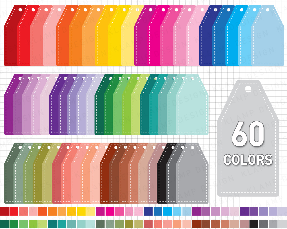 Labels Bundle Graphics and Illustrations / Frames Bundle example image 13