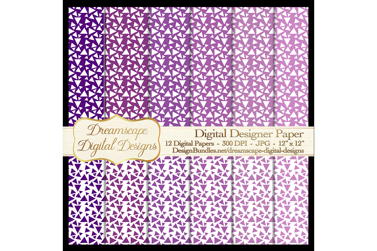 Digital Papers - Purple and White (Set 4) - 12 jpg Images at 300 DPI - Digital Product Instant Download example image 2