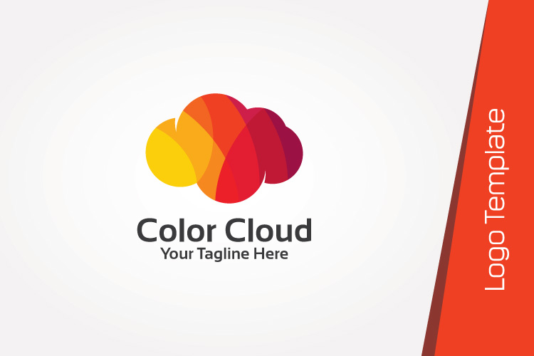Colorful Cloud Logo Template example image 2