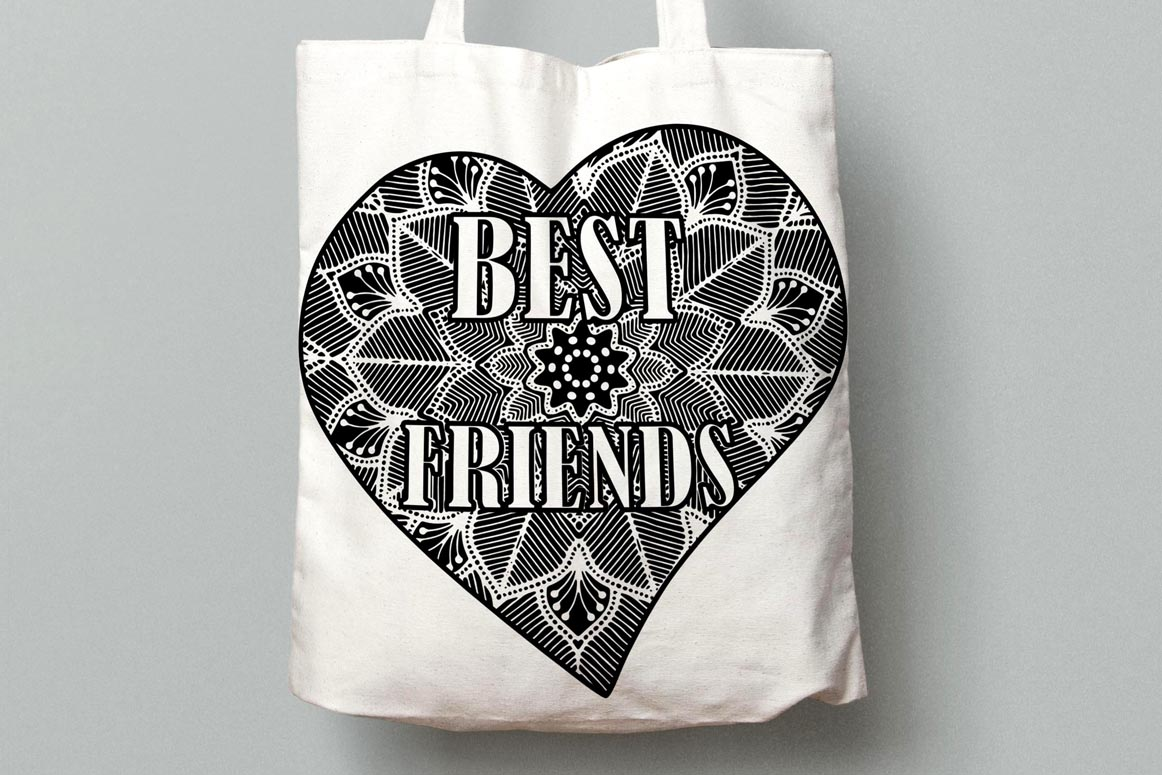 Best Friends Clipart,SOUL SISTERS CLIPART, Bff clipart, example image 10
