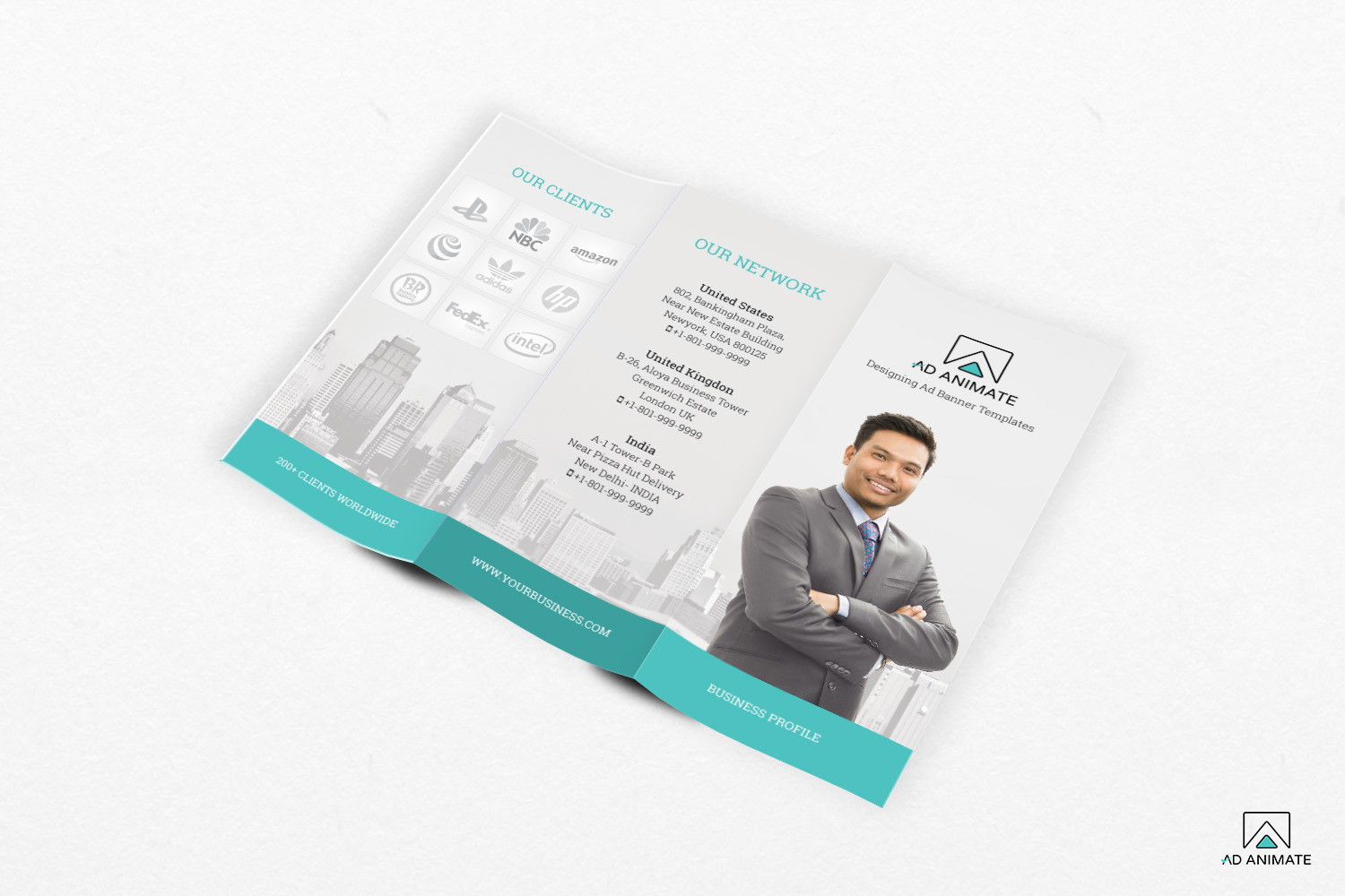 Trifold Business Brochure example image 3