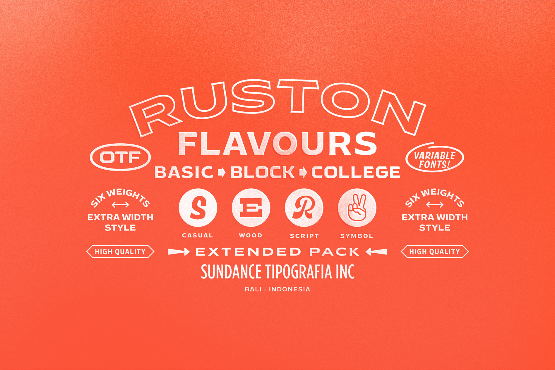 Ruston Font Family example image 3