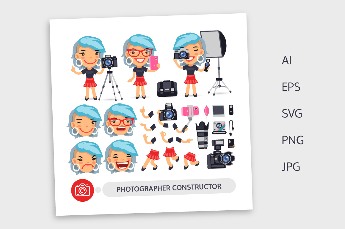 Photographer Woman Construtor example image 3