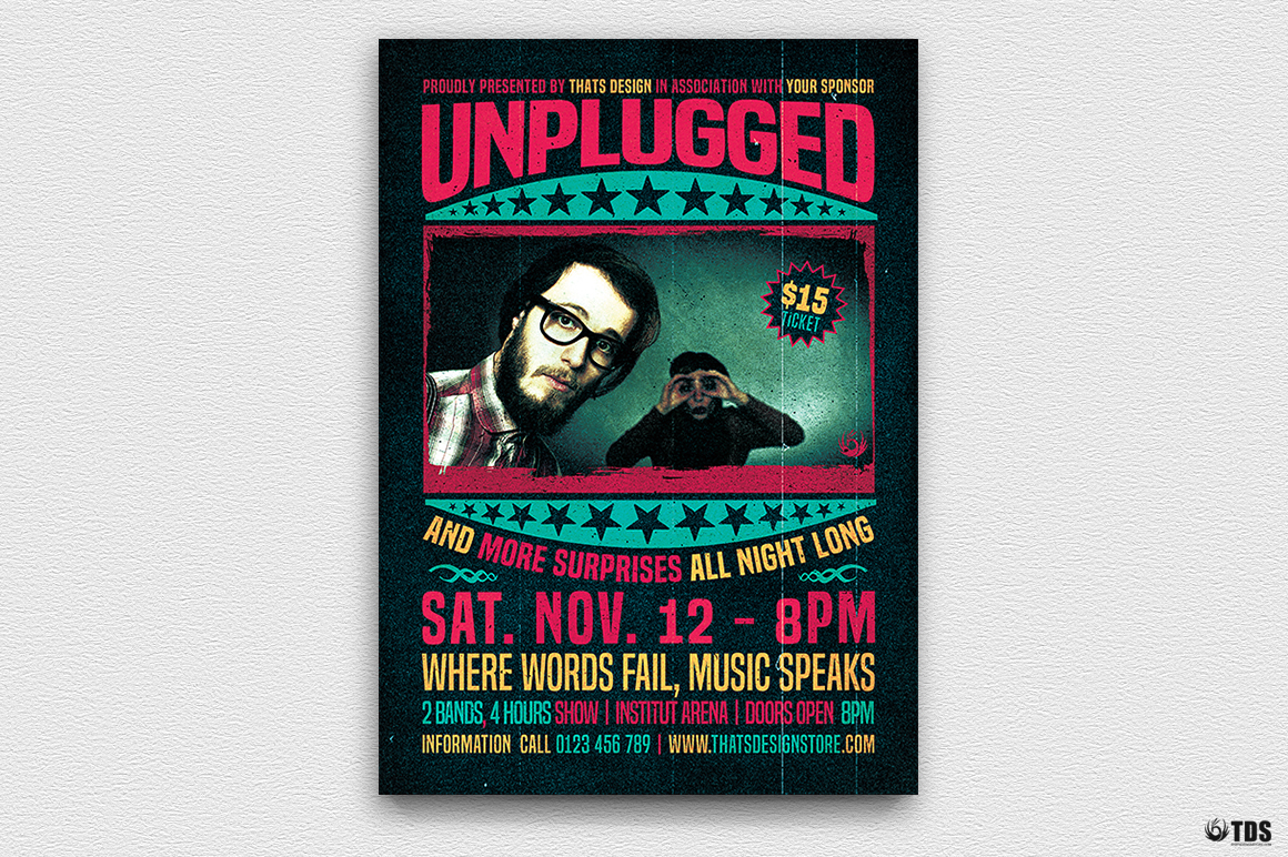 Live Band Flyer Bundle V4 example image 4