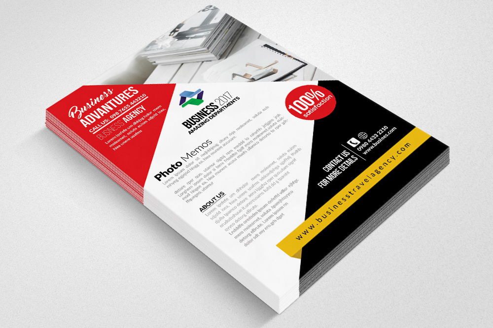 Homeowners Association Psd Flyer Templates example image 3