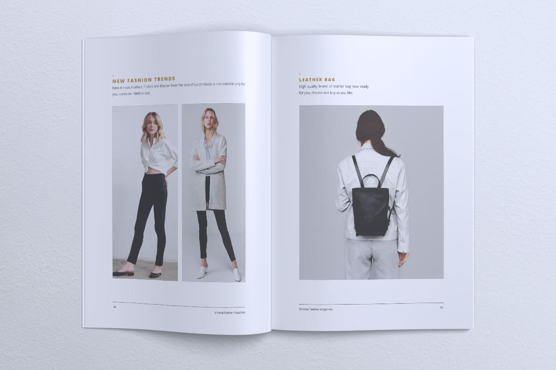 MINIMAL Lookbook Magazines Fashion example image 8