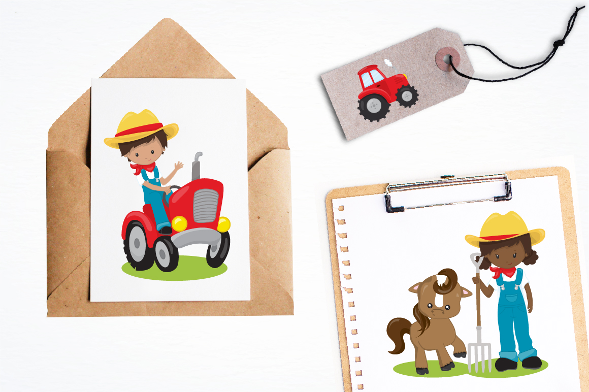 My Farm graphics and illustrations example image 3