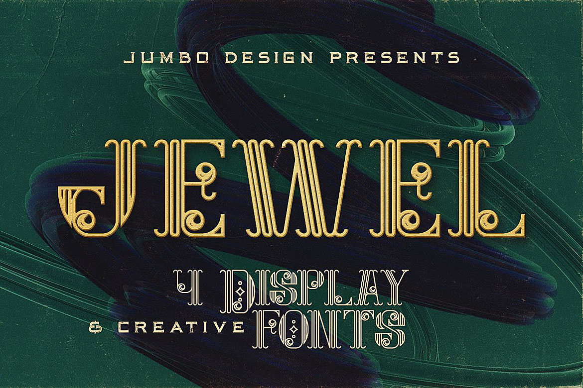 Jewel - Display Font example image 3