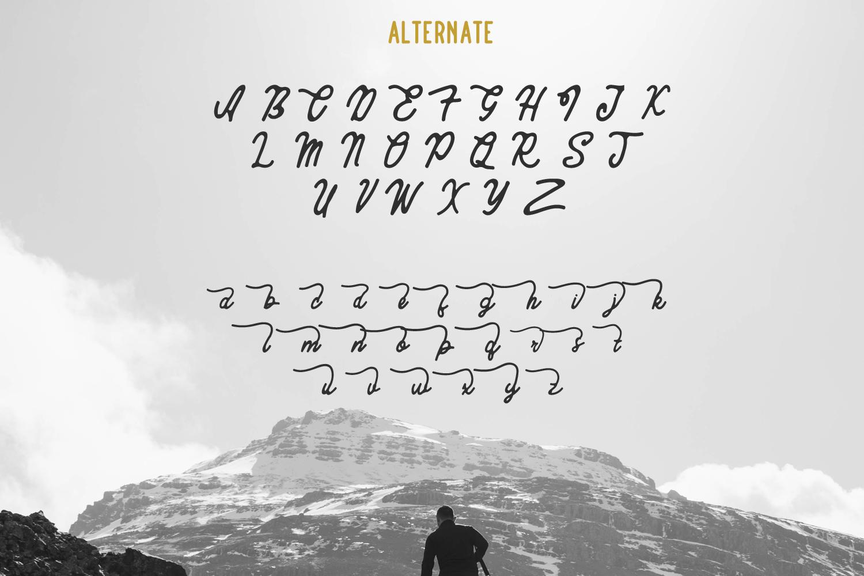 Komentator Vintage Font example image 5