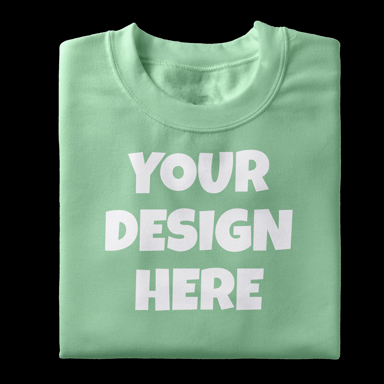 Folded Tshirt Mockups-12|PNG|3000x3000 example image 11