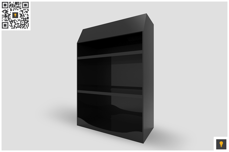Promotional Shelf Display 3D Render example image 3