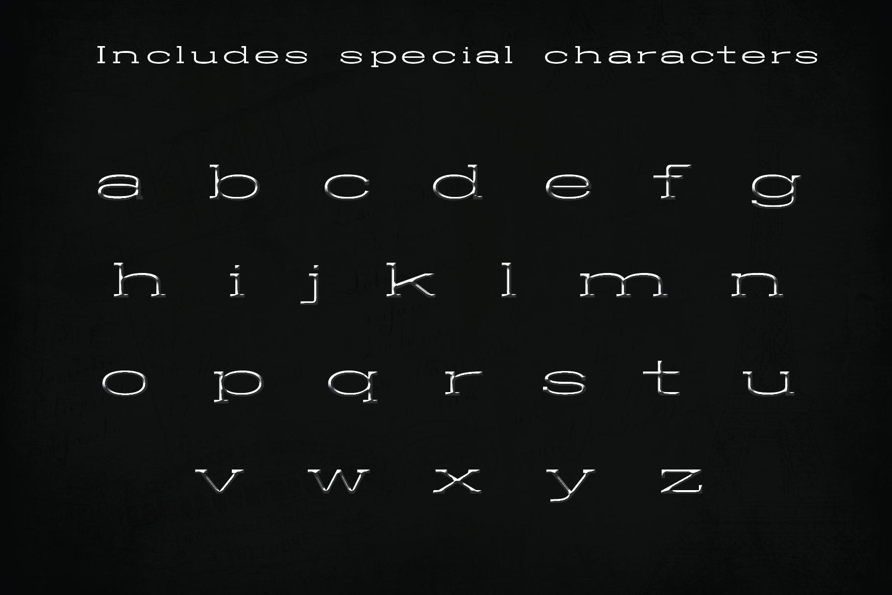 BALDWIN - A classy typeface example image 3