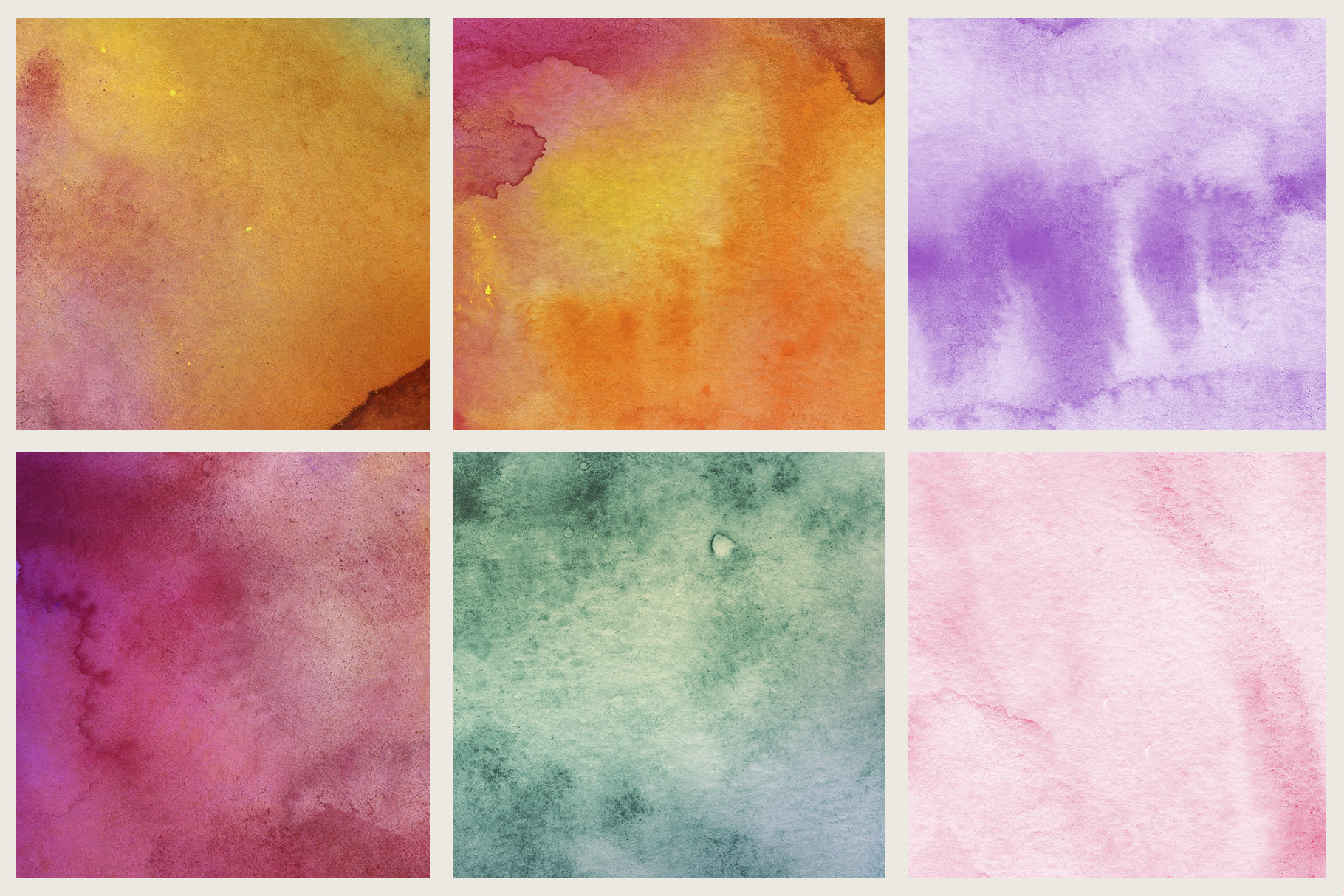 Luminoso Watercolor Textures example image 3