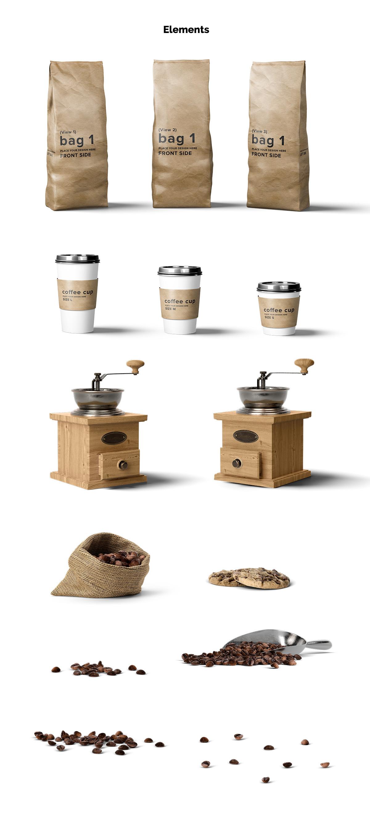 Coffee Mockup Scene Creator example image 2