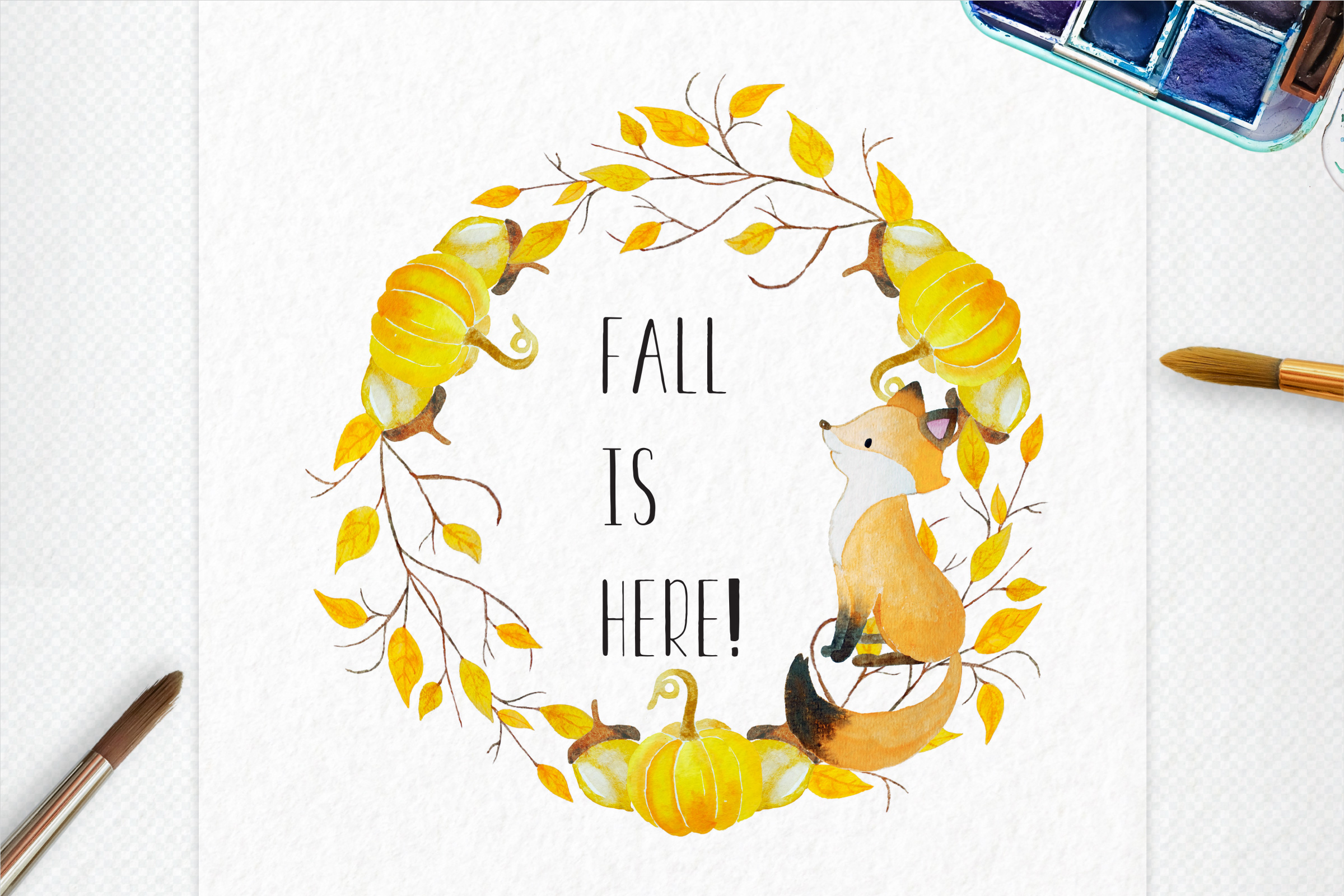 Autumn Wreath Creator example image 2