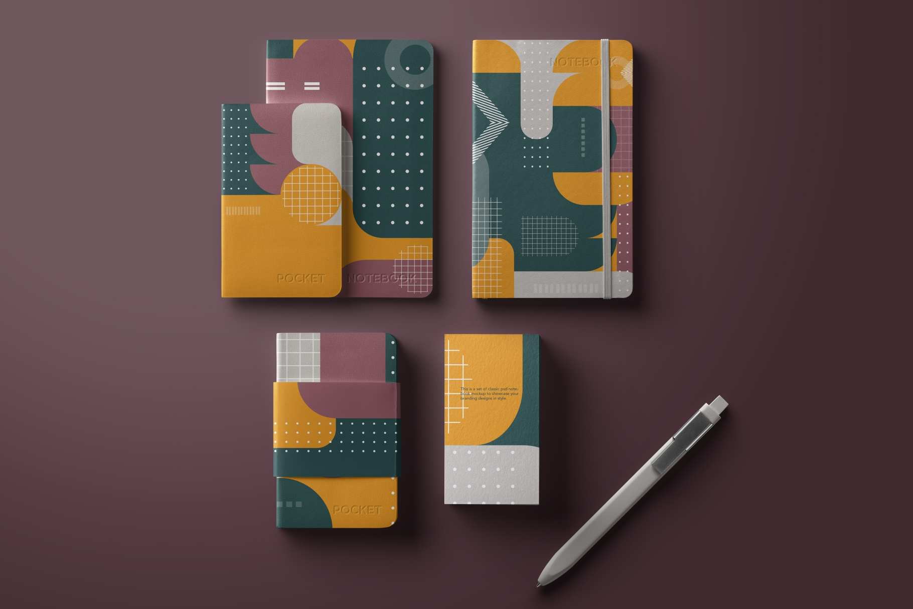 Old school geometry pattern collection example image 4
