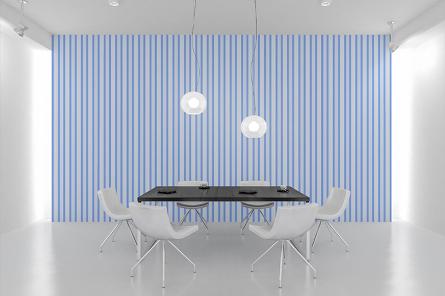 54 Plaid,Stripe & Dots on Blue Shades JPG Background Papers example image 1