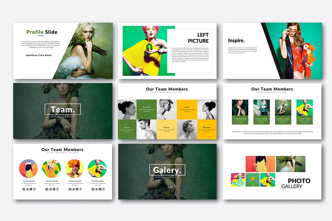 Inspire Creative Presentation example image 4