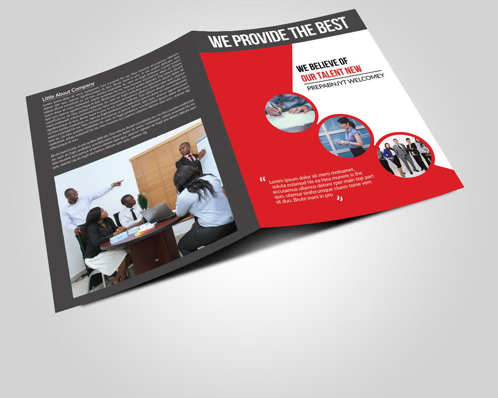 Business Bi Fold Brochure Templates example image 2