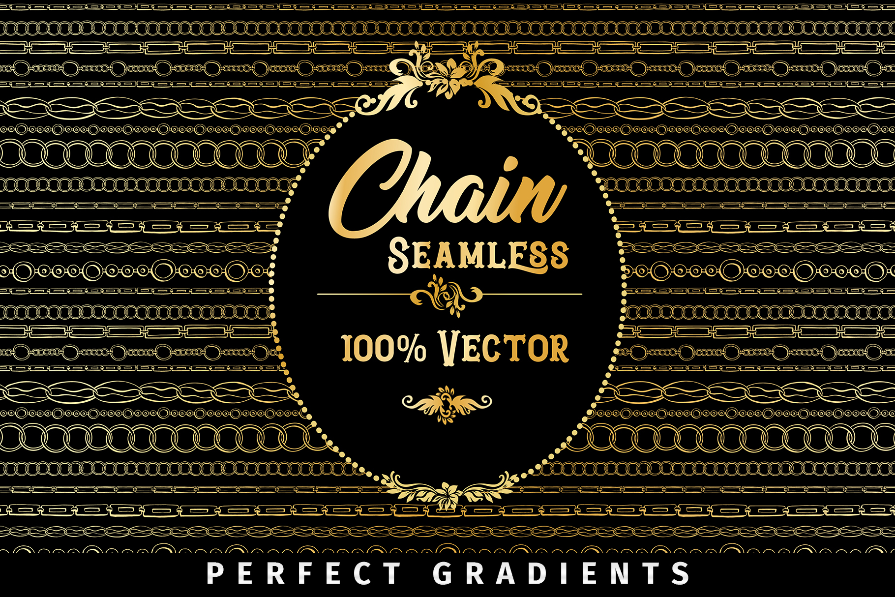 Chains Jewelry Graphics Pack example image 6