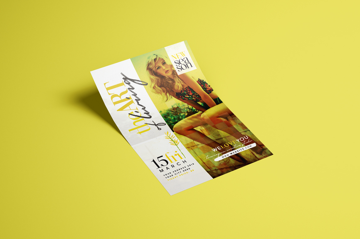 The Art Of Living Flyer Template example image 3