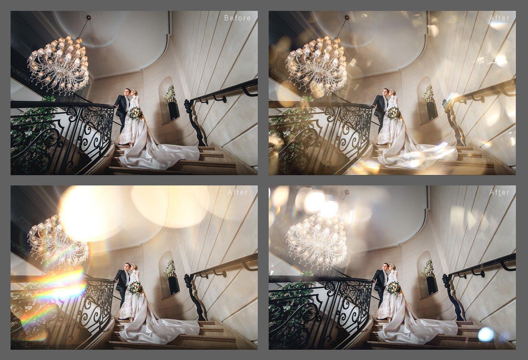 Wedding Art Bokeh Photo Overlays example image 3