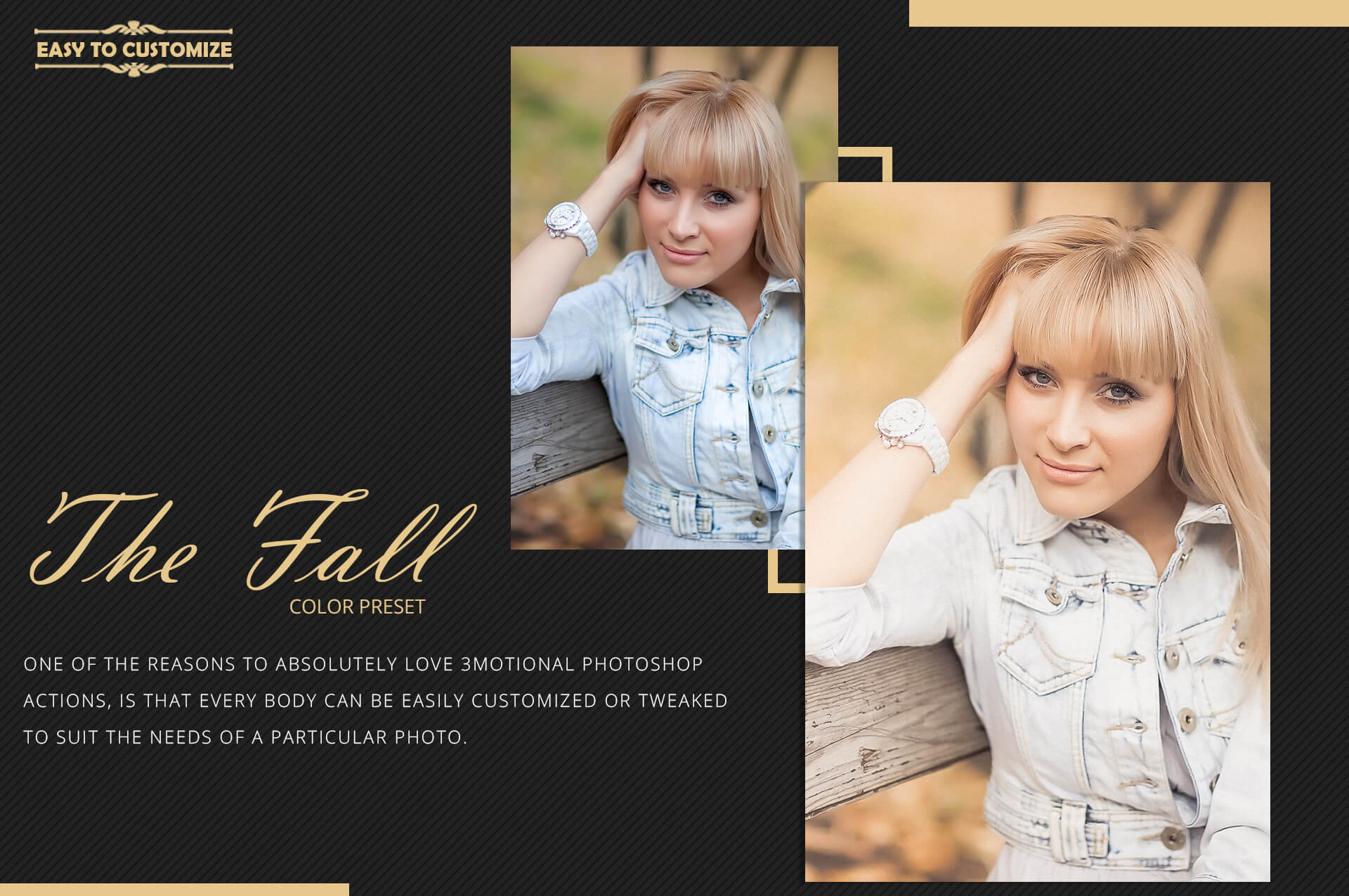 150 Fall Theme Color Grading Premium Photoshop action example image 10