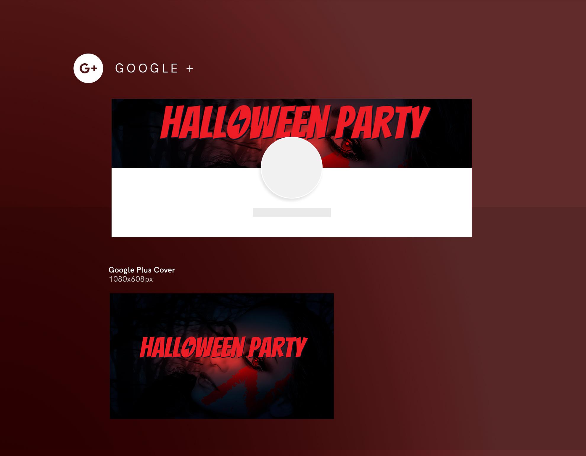 Halloween Party Design Templates Bundle example image 8
