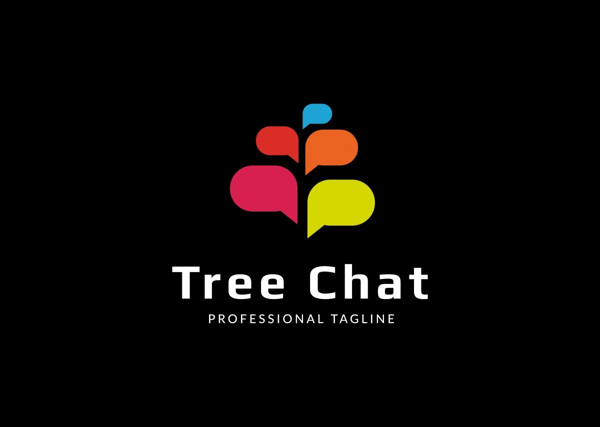 Tree Chat Logo example image 3