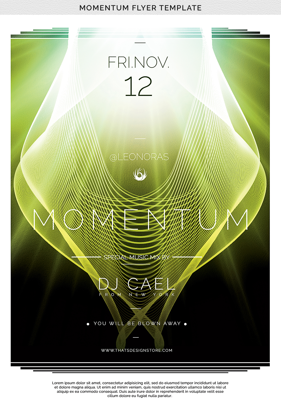 Momentum Flyer Template example image 8