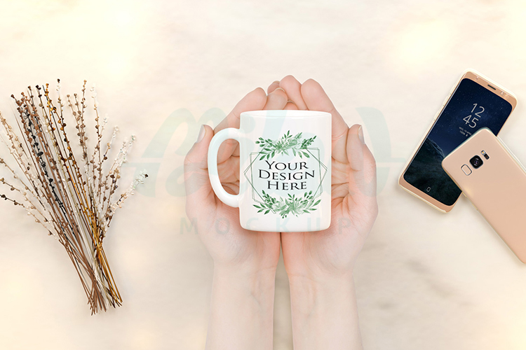 Bundle of 12 Mugs coffee Mockup example image 13