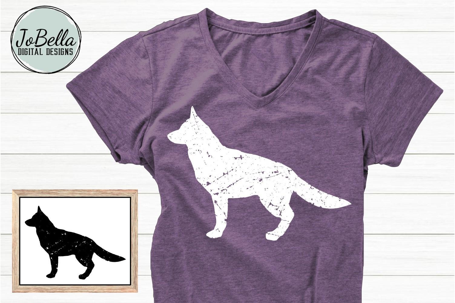 Distressed Dogs Bundle - Popular Dog Breed Grunge Designs example image 8