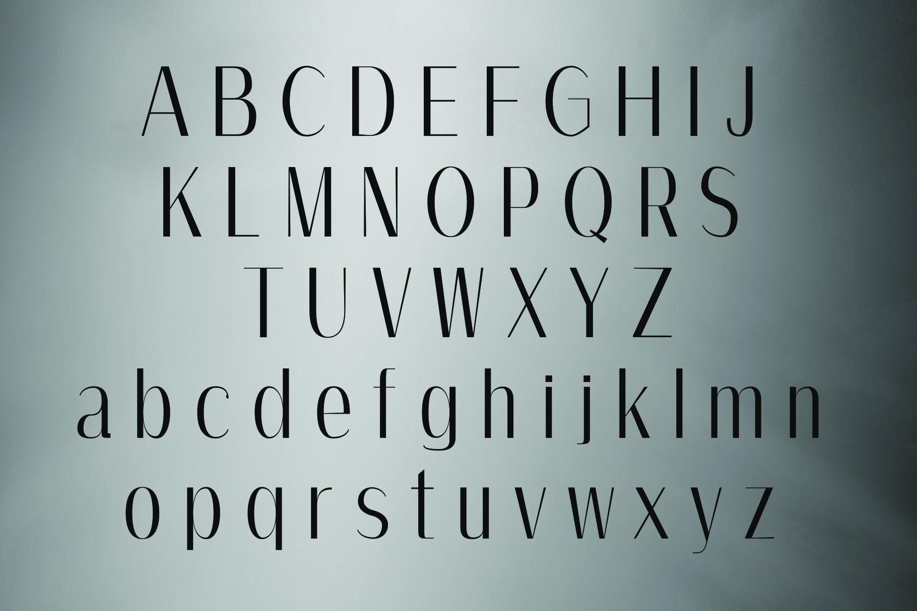 AMOS, A Modern Sans Serif example image 5