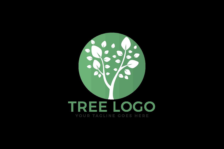 Tree vector logo design. example image 2