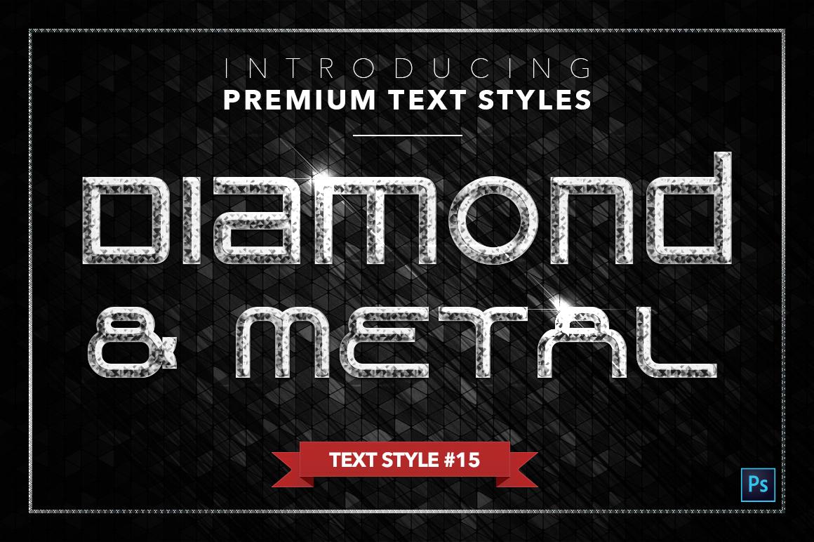 Diamond & Metal #3 - 18 Text Styles example image 16