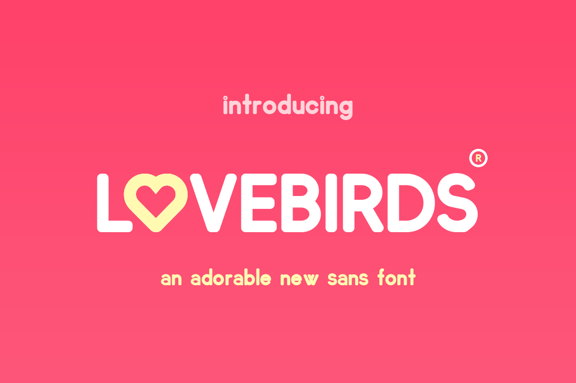 Lovebirds Font example image 1