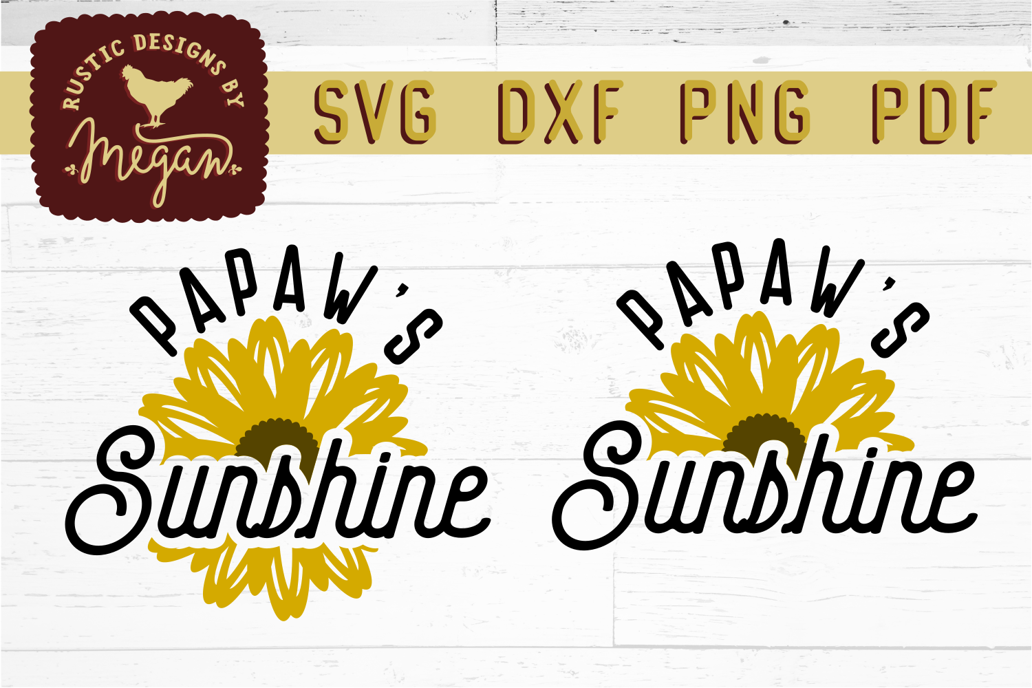 Sunflower SVG Bundle example image 14