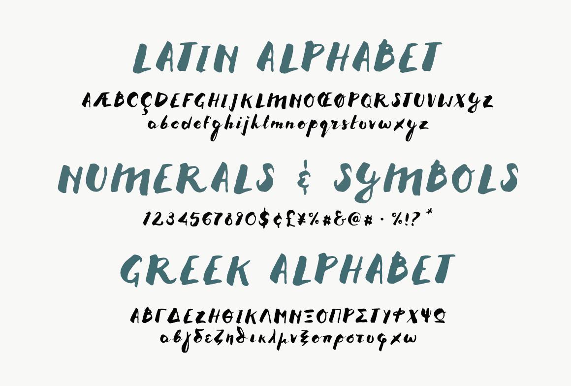 Melidia Font | HandBrushed example image 4