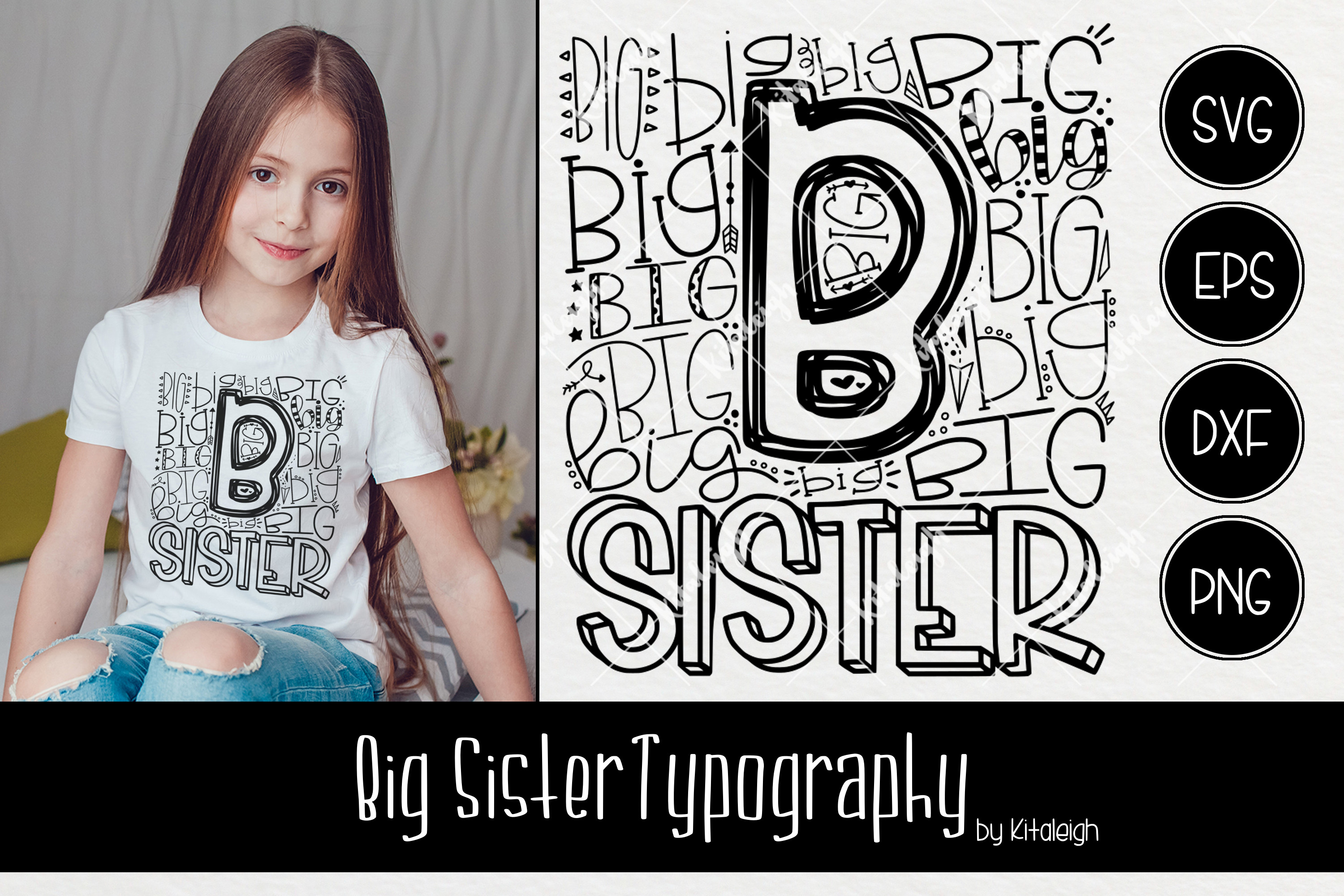 Sibling Typography Bundle example image 5