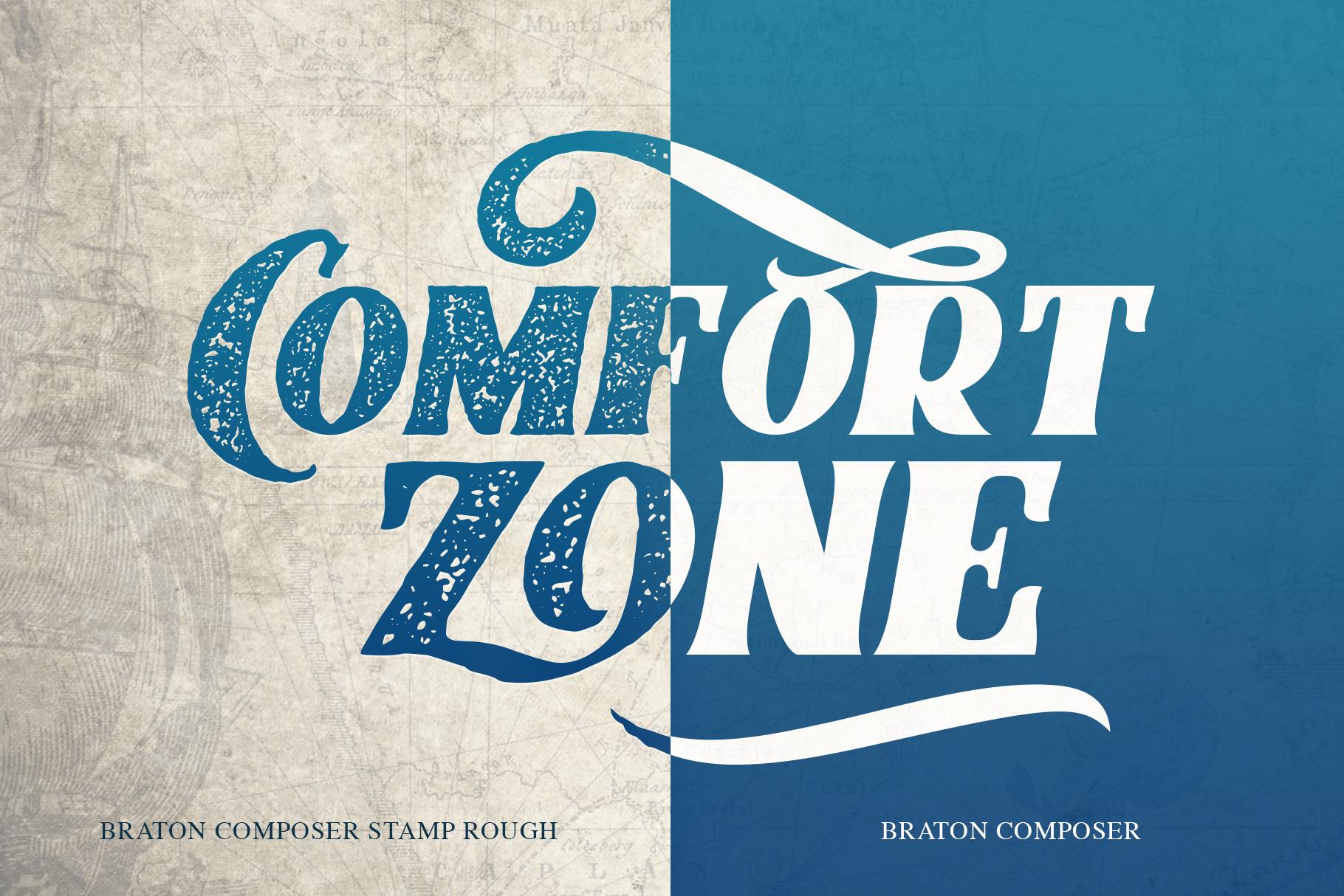 Braton Composer Typeface example image 10