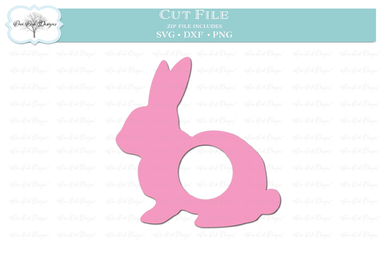 Easter Bunny Monogram Frame example image 1